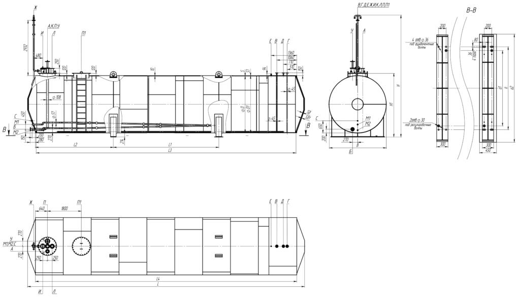 РГСДп 10-100 м3